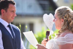 Persönliche Worte der Braut - Foto Ralf Piepiora