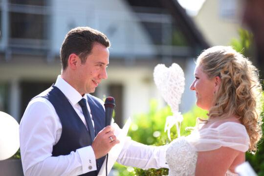 Persönliche Worte des Bräutigams - Foto Ralf Piepiora